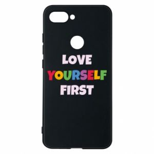 Etui na Xiaomi Mi8 Lite Love yourself first