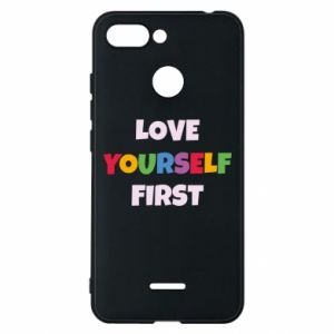 Etui na Xiaomi Redmi 6 Love yourself first