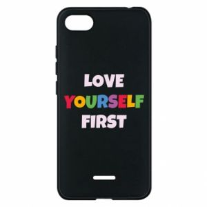 Etui na Xiaomi Redmi 6A Love yourself first