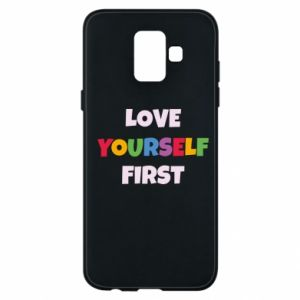 Etui na Samsung A6 2018 Love yourself first