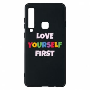 Etui na Samsung A9 2018 Love yourself first