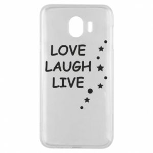 Etui na Samsung J4 Love. Laugh. Live