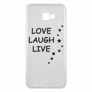 Etui na Samsung J4 Plus 2018 Love. Laugh. Live