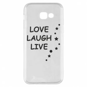 Etui na Samsung A5 2017 Love. Laugh. Live