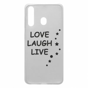 Etui na Samsung A60 Love. Laugh. Live