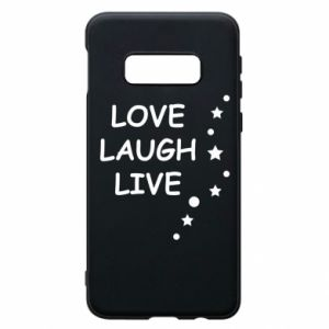 Etui na Samsung S10e Love. Laugh. Live