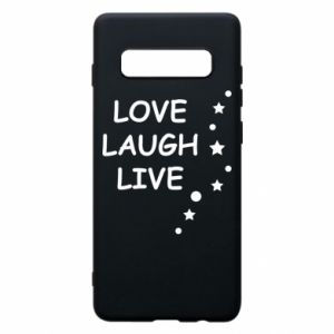 Etui na Samsung S10+ Love. Laugh. Live