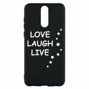 Etui na Huawei Mate 10 Lite Love. Laugh. Live