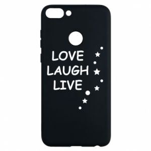 Etui na Huawei P Smart Love. Laugh. Live