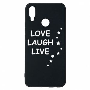 Etui na Huawei P Smart Plus Love. Laugh. Live