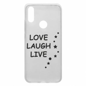 Etui na Xiaomi Redmi 7 Love. Laugh. Live