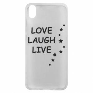 Etui na Xiaomi Redmi 7A Love. Laugh. Live