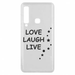 Etui na Samsung A9 2018 Love. Laugh. Live