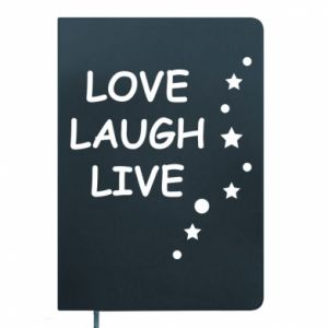 Notes Love. Laugh. Live
