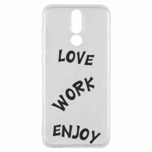 Etui na Huawei Mate 10 Lite Love. Work. Enjoy