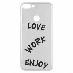 Etui na Huawei P Smart Love. Work. Enjoy