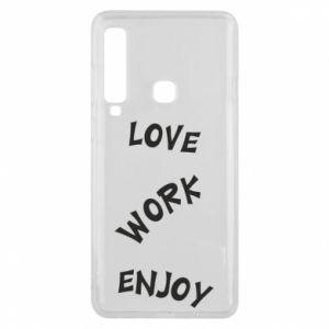 Etui na Samsung A9 2018 Love. Work. Enjoy