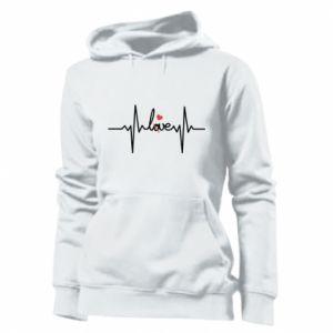 Bluza damska Miłość i serce