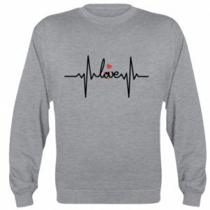 Bluza (raglan) Miłość i serce - PrintSalon