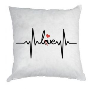 Poduszka Miłość i serce - PrintSalon