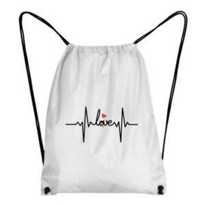 Plecak-worek Miłość i serce