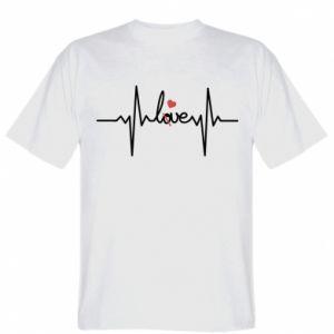 Koszulka Miłość i serce - PrintSalon