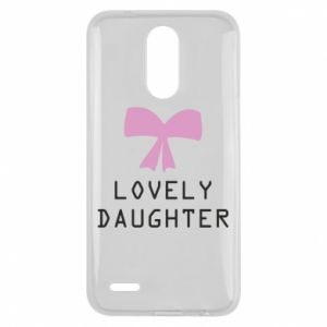 Lg K10 2017 Case Lovely daughter