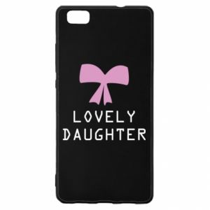 Huawei P8 Lite Case Lovely daughter
