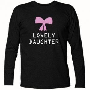 Long Sleeve T-shirt Lovely daughter