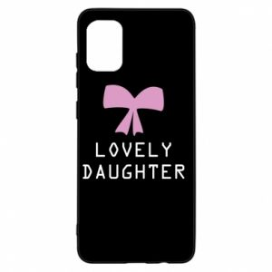 Samsung A31 Case Lovely daughter