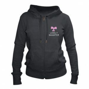 Women's zip up hoodies Lovely daughter