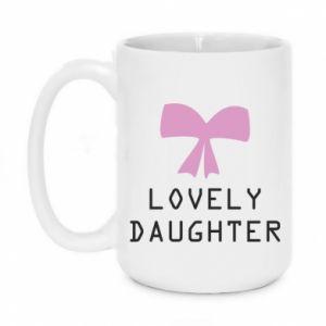 Kubek 450ml Lovely daughter - PrintSalon