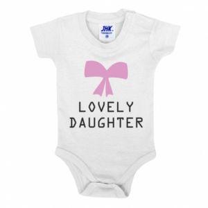 Baby bodysuit Lovely daughter