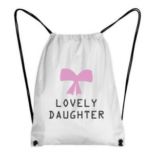Backpack-bag Lovely daughter