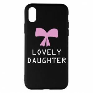 iPhone X/Xs Case Lovely daughter