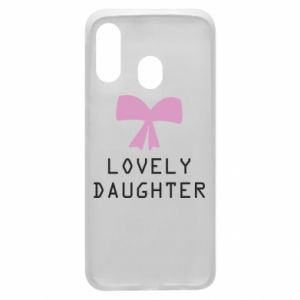 Samsung A40 Case Lovely daughter