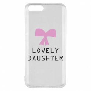 Xiaomi Mi6 Case Lovely daughter