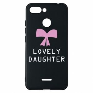 Xiaomi Redmi 6 Case Lovely daughter