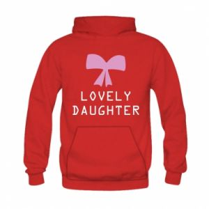 Kid's hoodie Lovely daughter