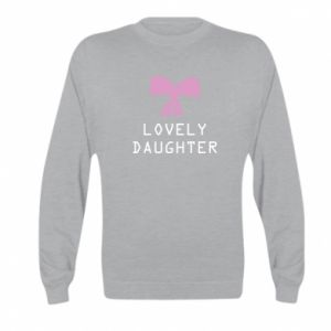 Kid's sweatshirt Lovely daughter