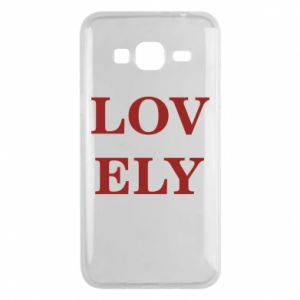 Phone case for Samsung J3 2016 Lovely