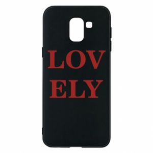 Phone case for Samsung J6 Lovely
