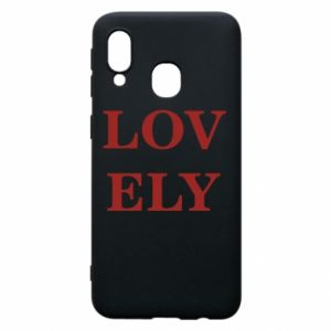 Phone case for Samsung A40 Lovely