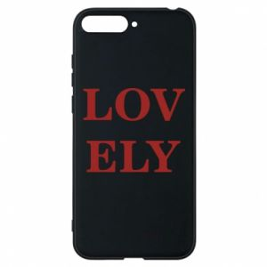 Phone case for Huawei Y6 2018 Lovely