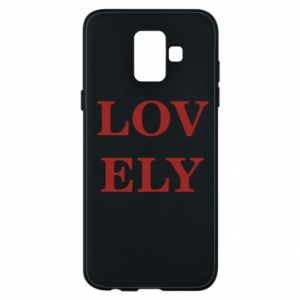Phone case for Samsung A6 2018 Lovely