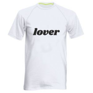 Męska koszulka sportowa Lover