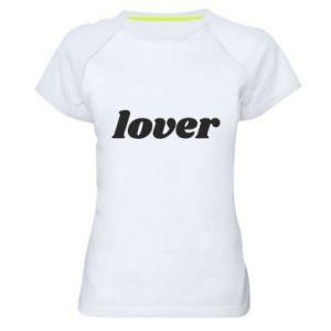 Damska koszulka sportowa Lover