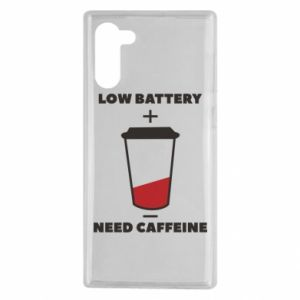 Samsung Note 10 Case Low battery