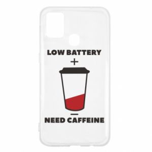 Samsung M31 Case Low battery