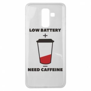 Samsung J8 2018 Case Low battery